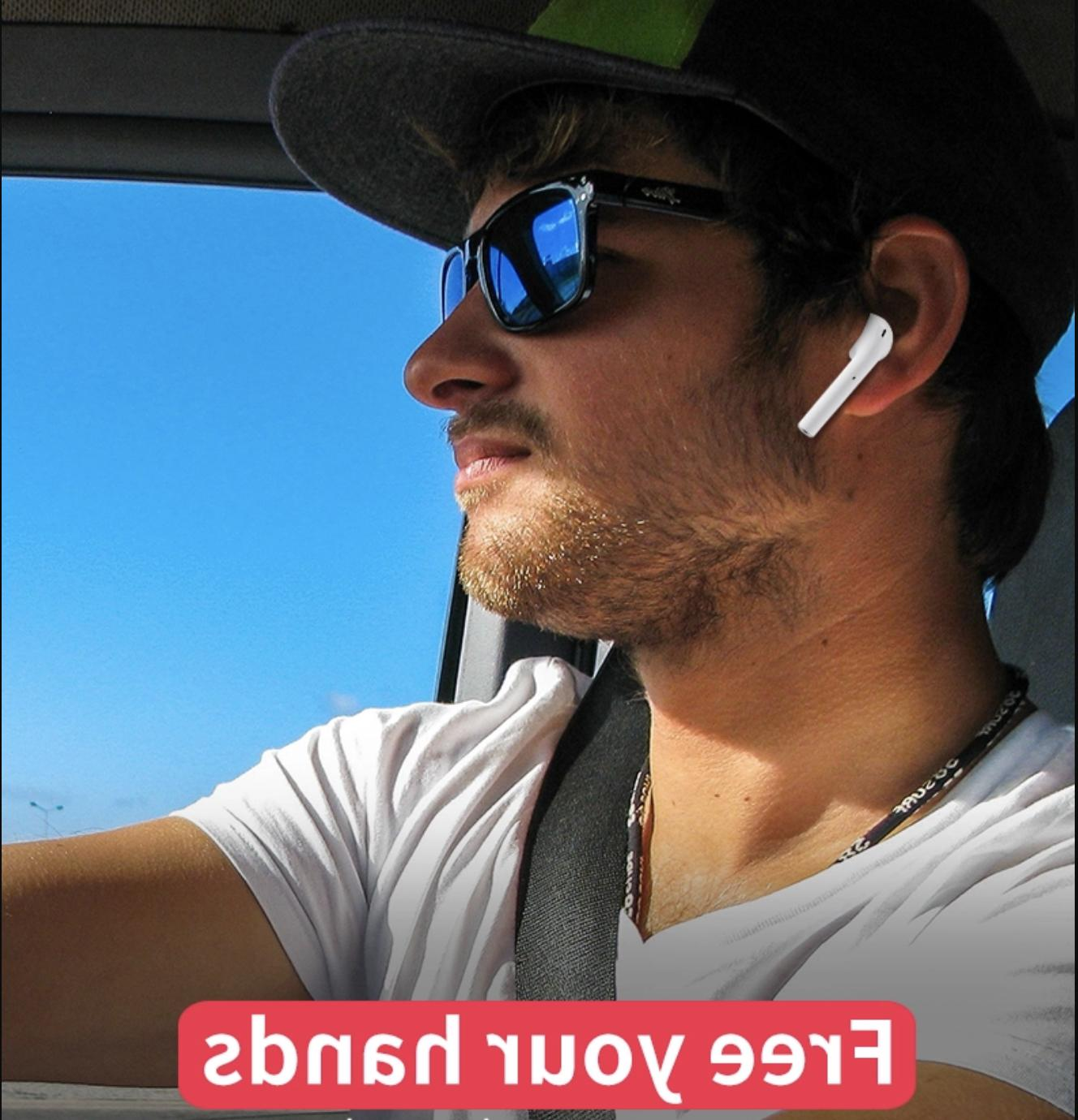 2019 *NEW* Wireless Bluetooth Headphones Headset Case