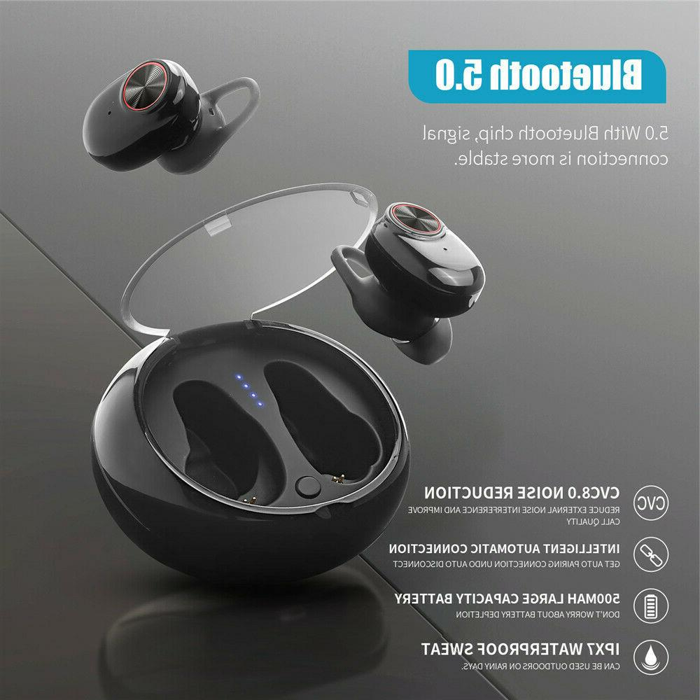 Earphone with Charger Box Earbud