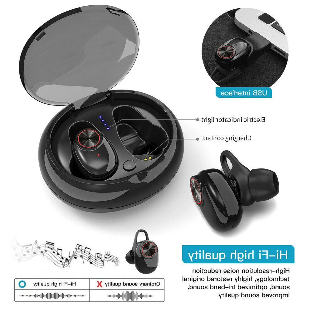 2019 Wireless with Charger Earbud