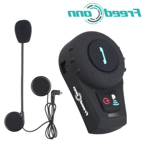 Freedconn FDCVB Motorcycle Intercom Bluetooth System Headset