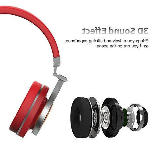Bluedio Bluetooth Ear with 57mm Folding Wireless Headset, and Wireless Cell Phone/TV/