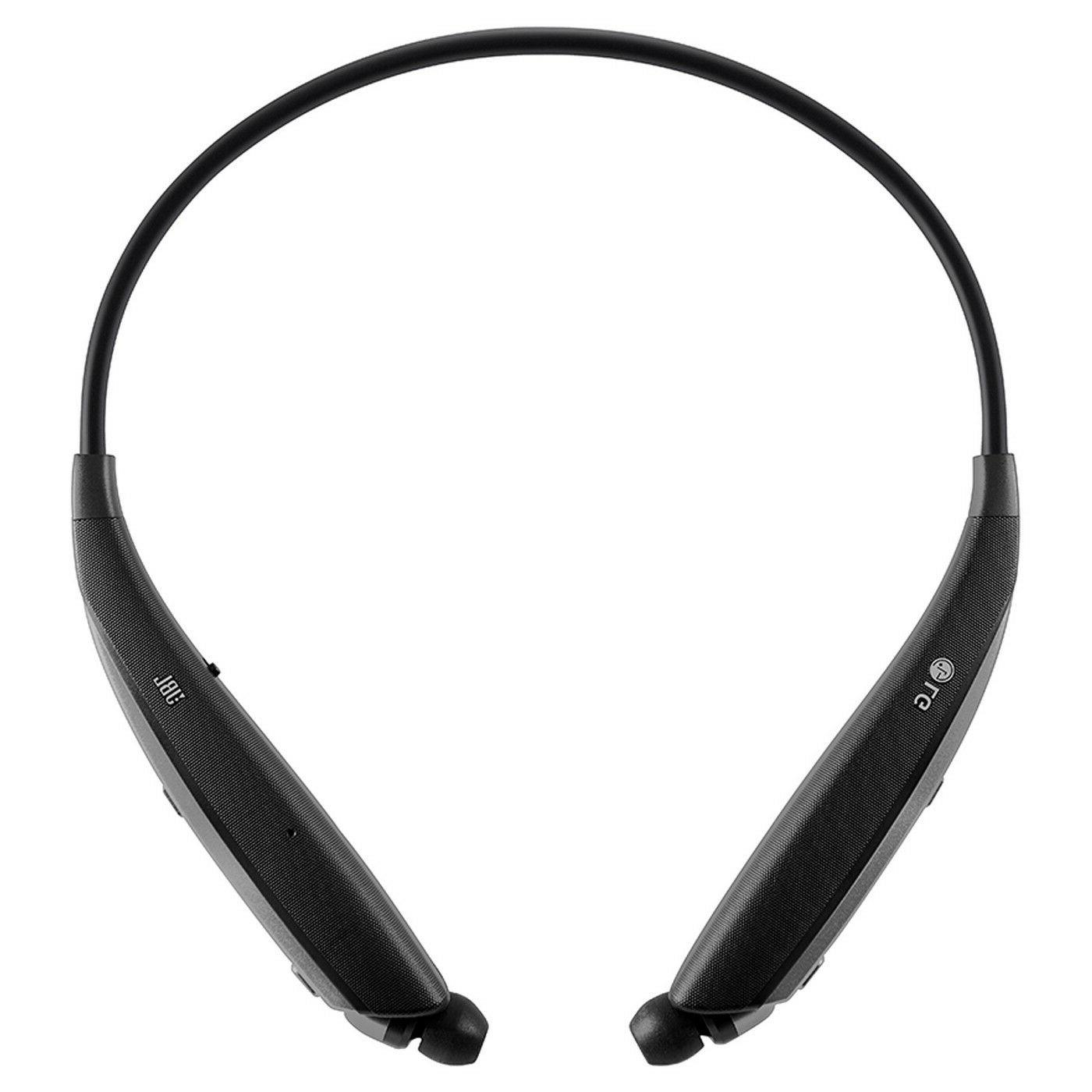 LG Tone Ultra HBS-820 Bluetooth Wireless Stereo Headset - Bl