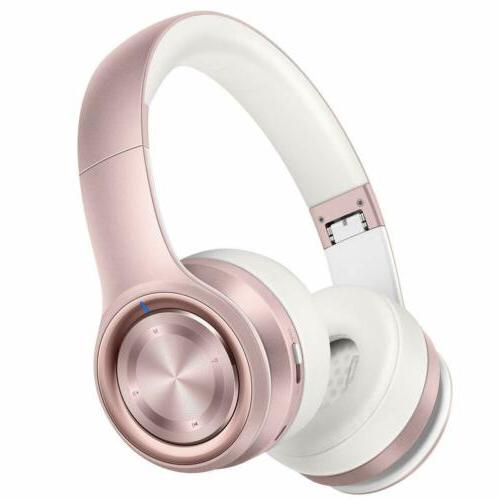 Picun P26 Bluetooth Headphones Over Ear 30H Playtime Hi-Fi S