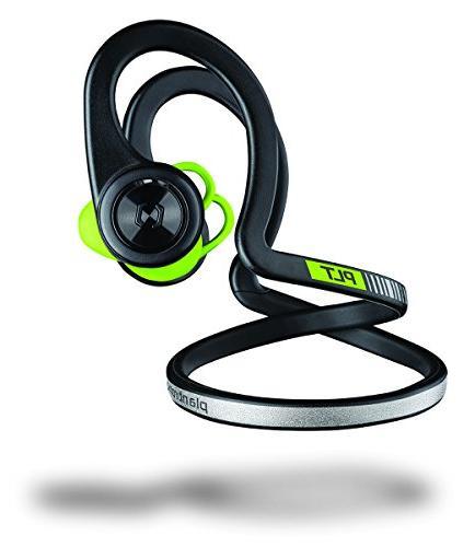 Plantronics Bluetooth Headphones - Earbuds Controls for Workout, Black