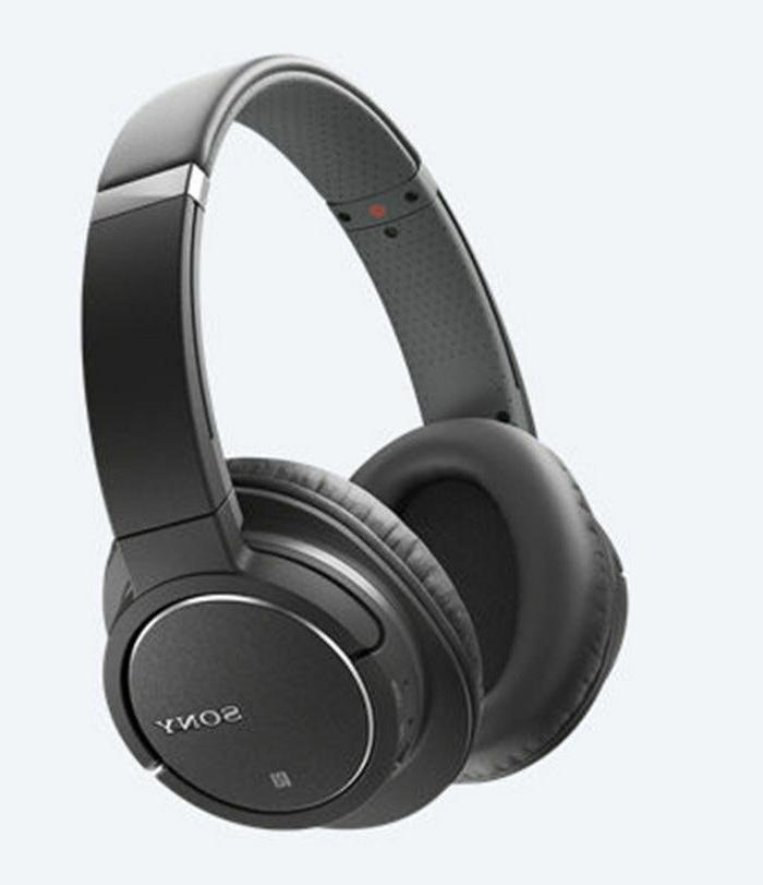 Sony - Over-the-ear Noise Canceling Stereo Headphones - Blac
