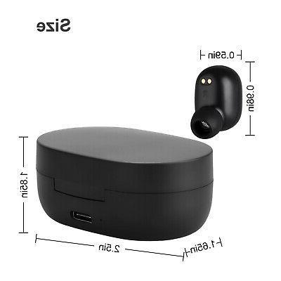 Wireless TWS Headphone Headset Mini Stereo Touch Earphones Earbuds