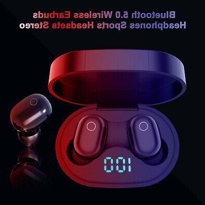 Wireless Bluetooth 5.0 Headphone Headset Touch Earphones
