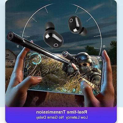 Headphone Headset Mini Touch Earbuds