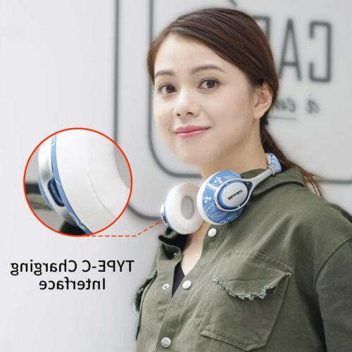 Bluedio Bluetooth 4.2 Stereo Headsets Over-Ear