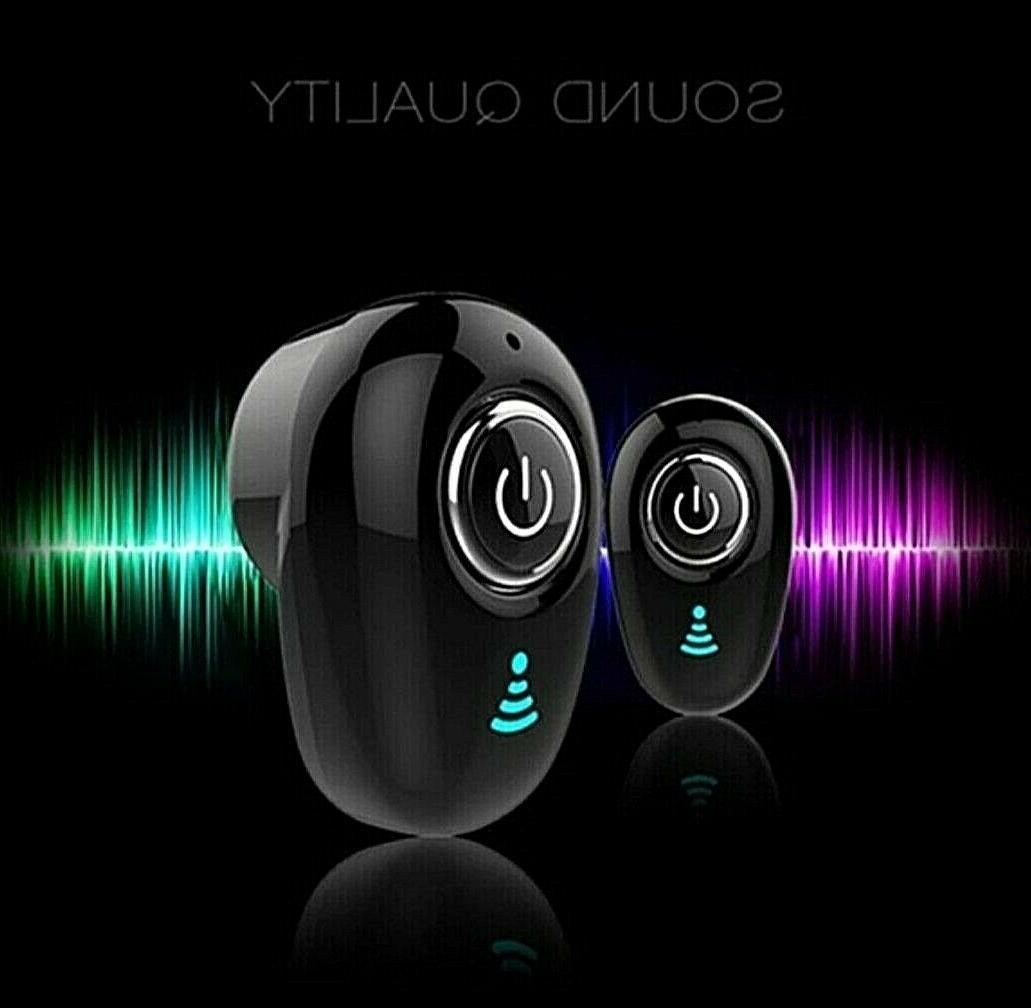Mini Bluetooth 4.1 Stereo Headset In-Ear Wireless Earphone E