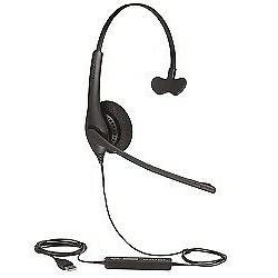 Jabra BIZ 1500 USB Mono Corded Headset 1553-0159 w/ Noise Ca