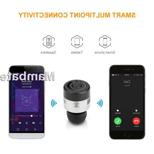 Mini Wireless Twins Bluetooth Earbuds Earphones Sport Headset