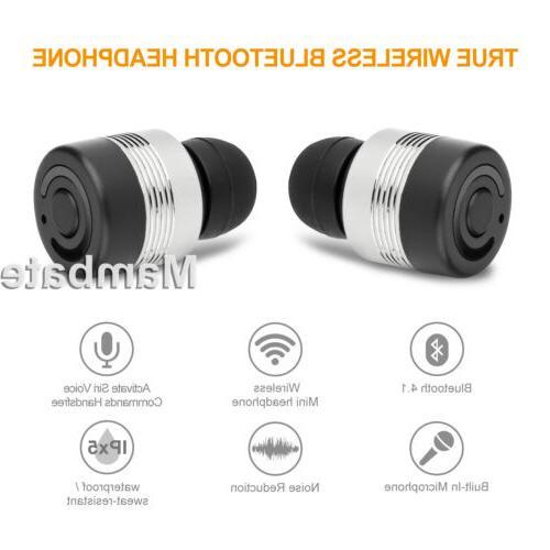 Mini True Wireless Twins Bluetooth Earphones