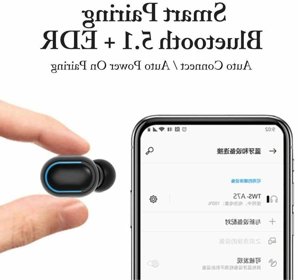 Bluetooth deep earbuds headset waterproof headphones