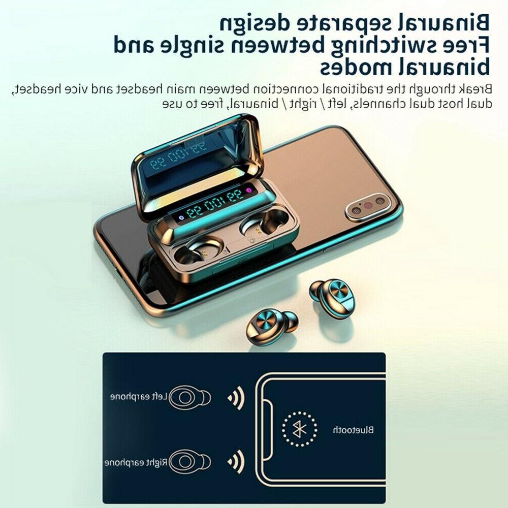 Bluetooth earbud TWS wireless waterproof