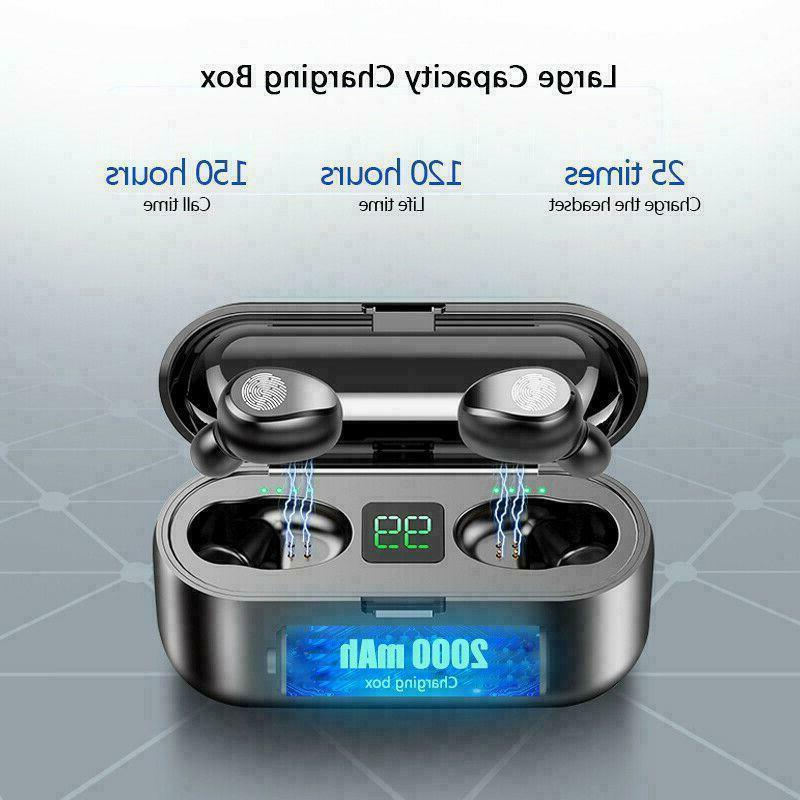 Bluetooth 5.0 Earbuds Wireless Earphones Bass in-Ear
