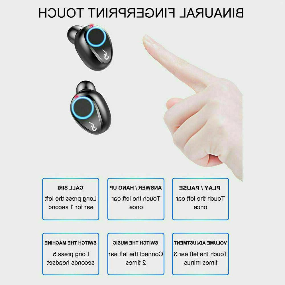 Bluetooth 5.0 Earbuds Earphones Deep Bass in-Ear Headphones