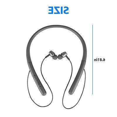 Bluetooth 5.0 Wireless Sport Neckband Magnetic