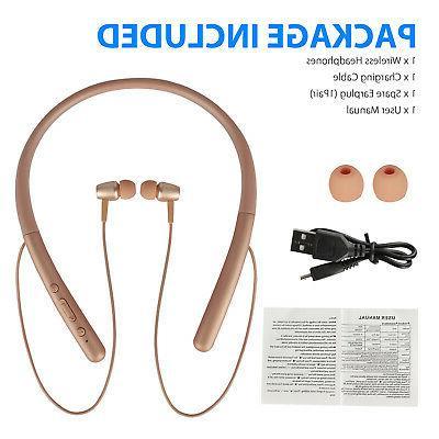 Bluetooth 5.0 Headphone Sport Neckband Headset