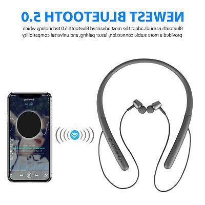 Bluetooth 5.0 Wireless Sport Magnetic