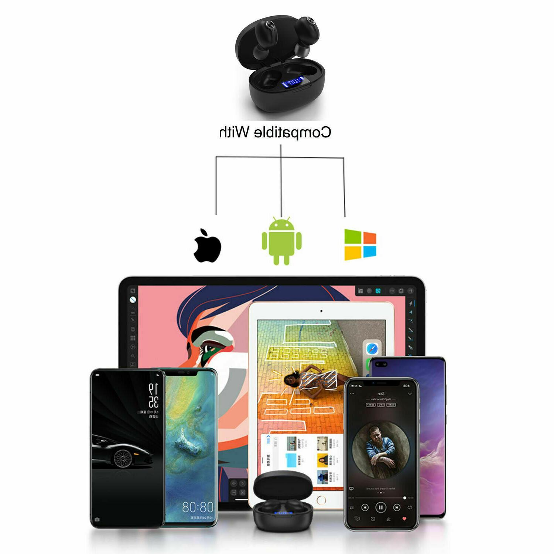 Bluetooth 5.0 Wireless Mini Earbuds Stereo IPX7