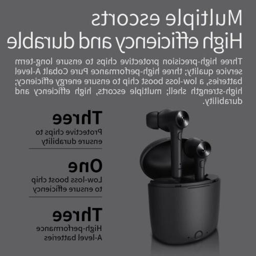 Bluedio 5.0 Waterproof Headset earbuds Touch