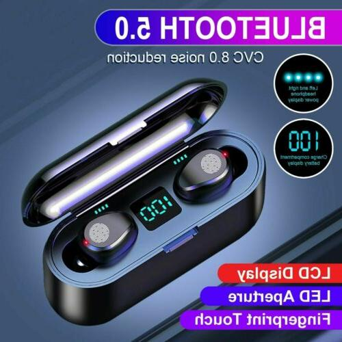 Bluetooth 5.0 Earphones Stereo Headset
