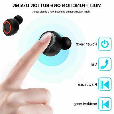 Bluetooth Earbuds Earpods iPhone Android Wireless Earphone Headphone