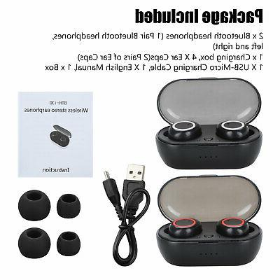 Bluetooth Earbuds Earpods iPhone Android Samsung Earphone