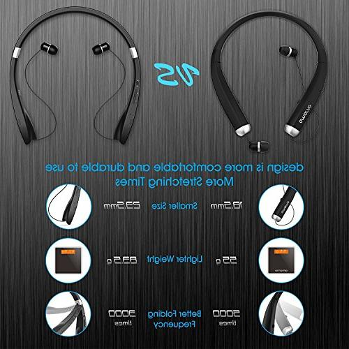 Bluetooth Wireless Retractable Noise Stereo with