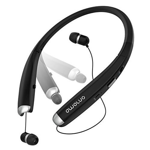Bluetooth Foldable Wireless with Retractable Noise Stereo