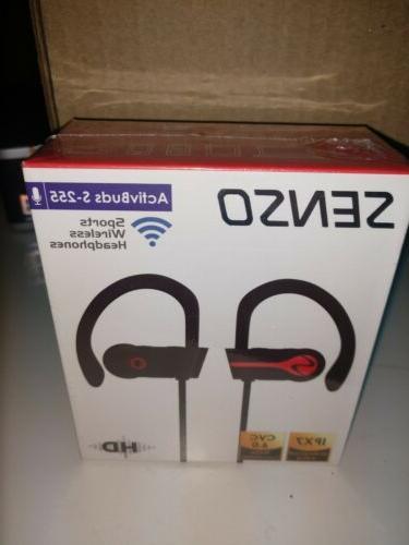 SENSO Headphones, Wireless Mic Waterproo
