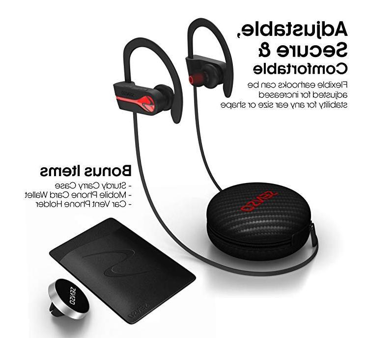 bluetooth headphones best wireless sports earphones w