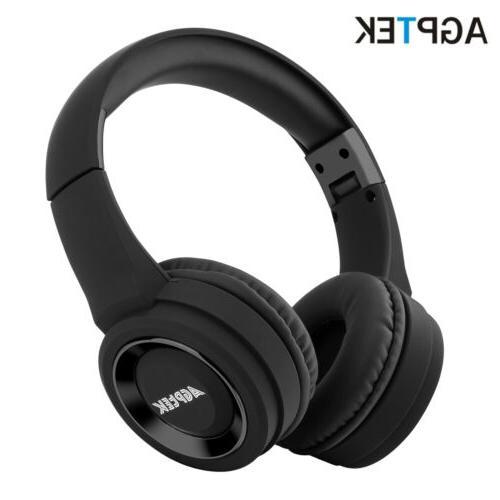 bluetooth headphones foldable wireless over ear headset