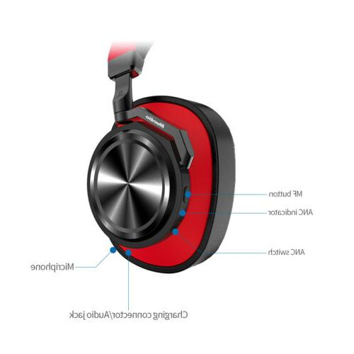Bluetooth ANC Headphones Headsets Mic