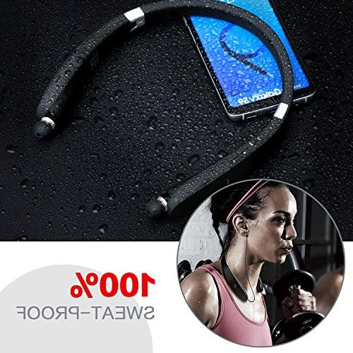Bluetooth Earphones with Earbud and Play Android Cellphone Tablets