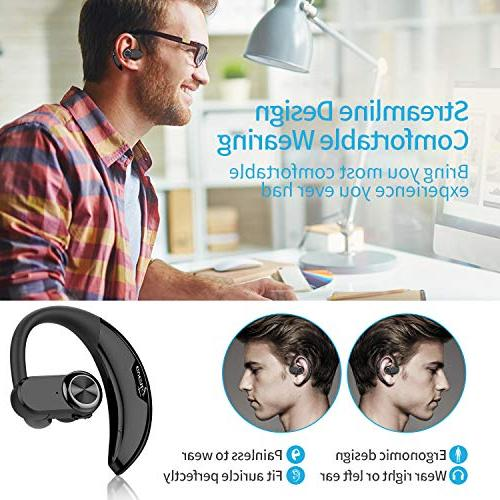 AVANTY Bluetooth Headset Wireless Bluetooth Earpiece Phone Earbuds Compatible with Android