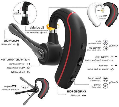 Bluetooth Earpiece for