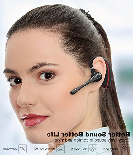 Bluetooth Wireless Earpiece V4.1 with Mic for