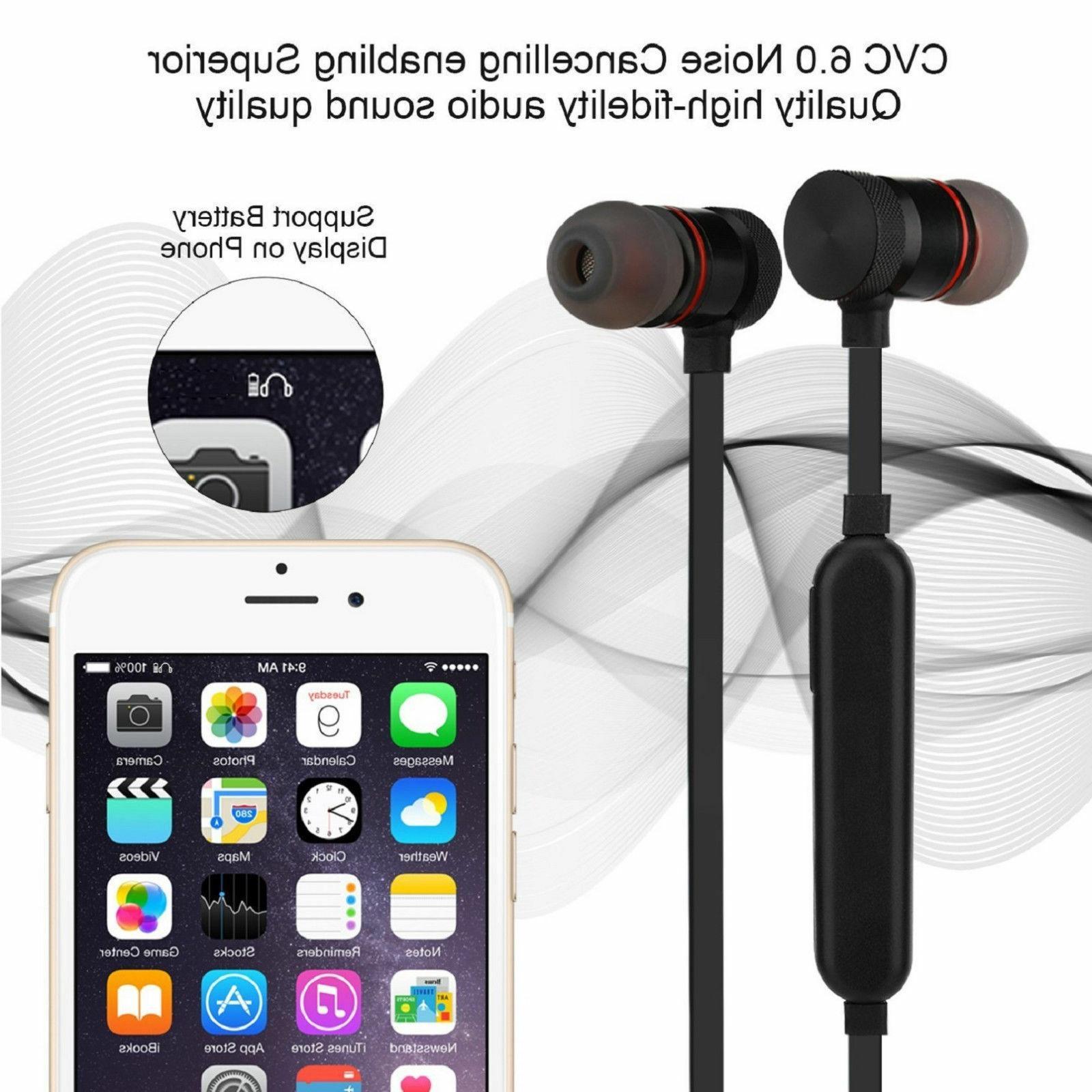 Sweatproof Bluetooth Sports Wireless Earphones