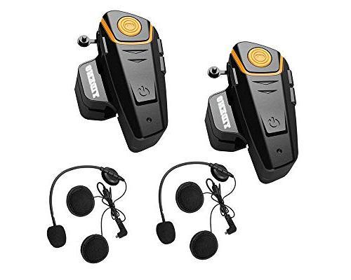 bluetooth motorcycle helmet headset intercom