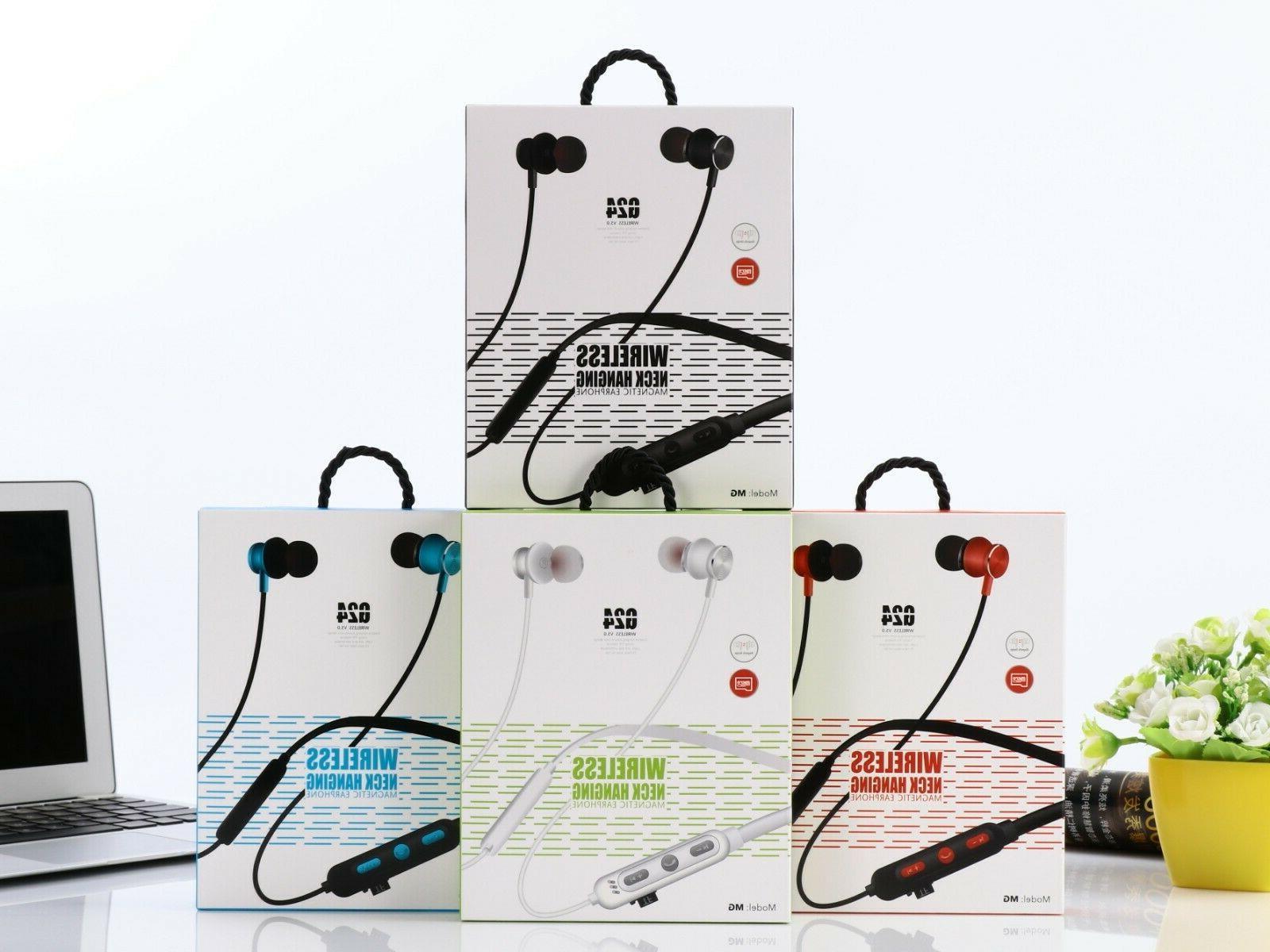 Bluetooth Neckband Wireless In-Ear Earphones