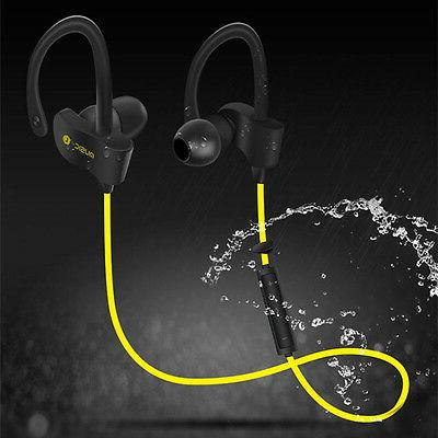 bluetooth sport extra bass stereo headset earphone