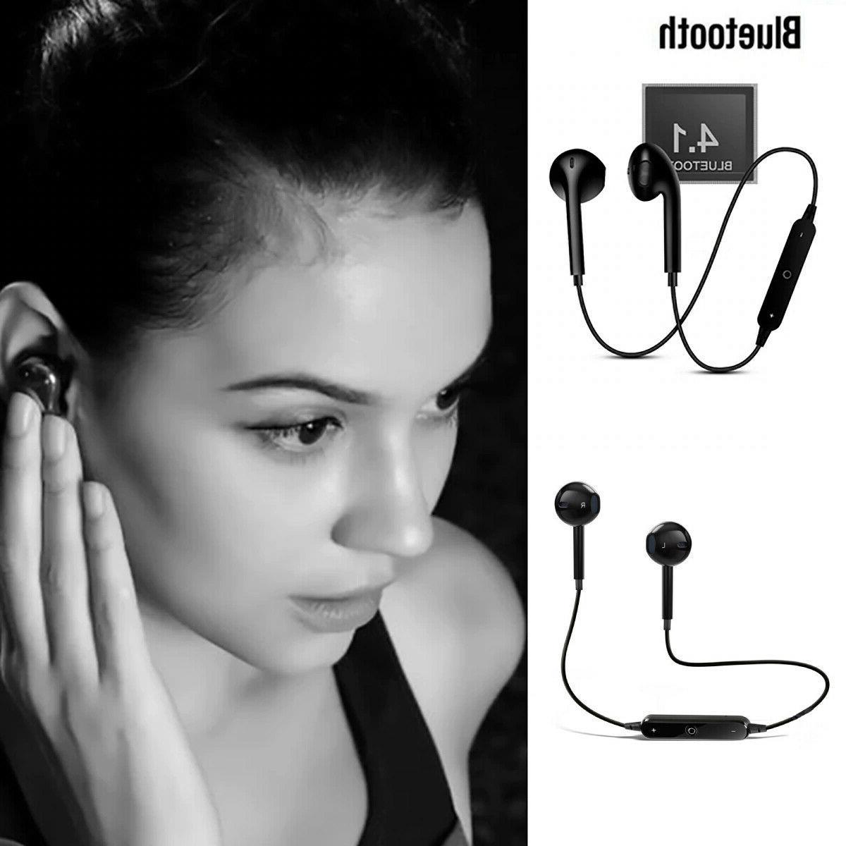 Bluetooth Wireless Earphone Neckband With