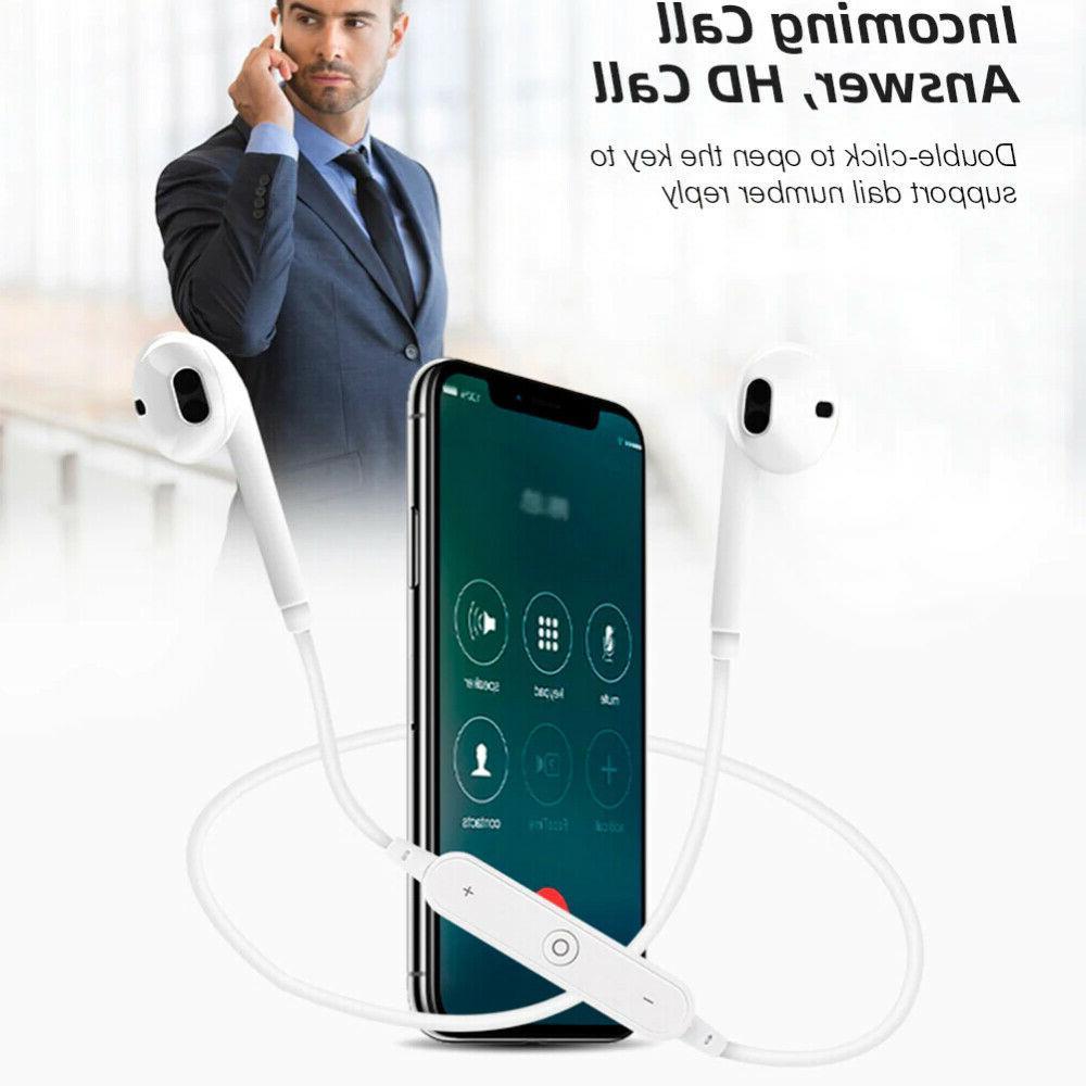 Bluetooth Earphone Neckband With Mic