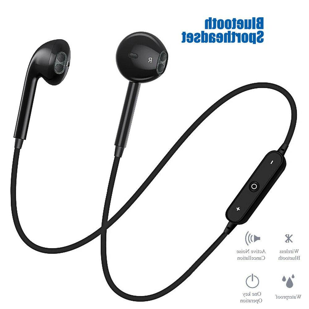 bluetooth wireless headphones headsets earphone neckband spo
