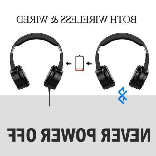 Bluetooth Headphones Over Ear Noise Reduction Earphone