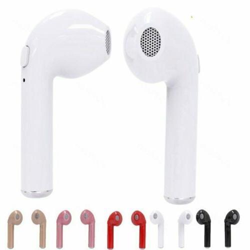 Bluetooth Headset i7s TWS W/ Box- Ear Colors