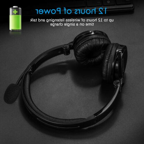Bluetooth Wireless Headset Driver Cancelling Headphone Over Ear