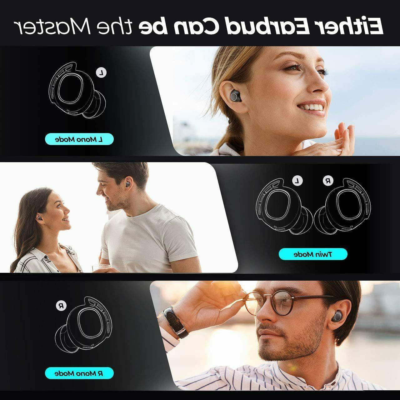 Mpow M30 TWS Wireless Earpiece Bluetooth 5.0 Sport